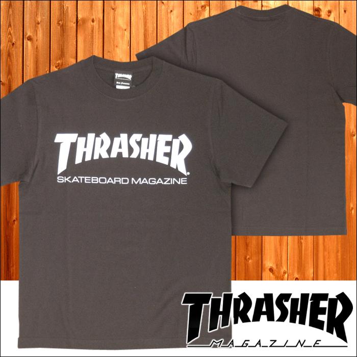 スラッシャー THRASHER メンズ Tシャツ MAG LOGO ブラック 半袖 tee T-SHIRTS カットソー トップス 男性用 スケーター インポート ストリート スタイル ブランド HIPHOP ウェアー B系 ウェア アメカジ ヒップホップ ファッション 正規