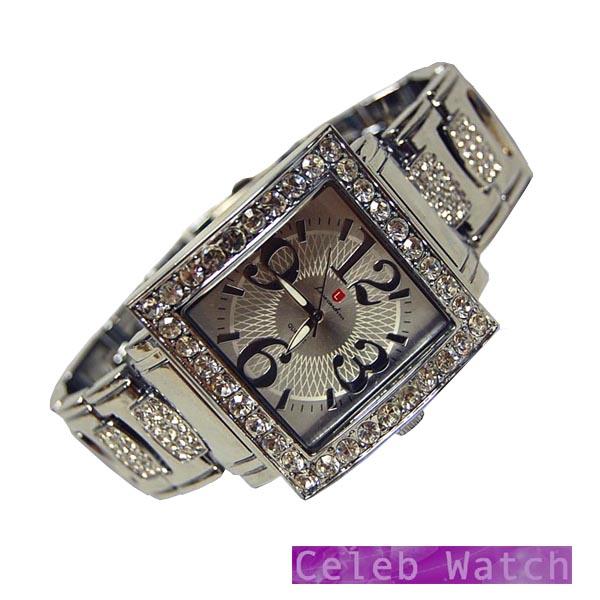 Louis Cardini 腕時計 ジルコニア カスタム ウォッチ シルバー メンズ ルイカルディーニ 時計 ラグジュアリー スタイル ブランド ファッション セレブ ウォッチ メンズウォッチ セレカジ レディース アクセサリー パーティー カジュアル ジュエリー スタイル