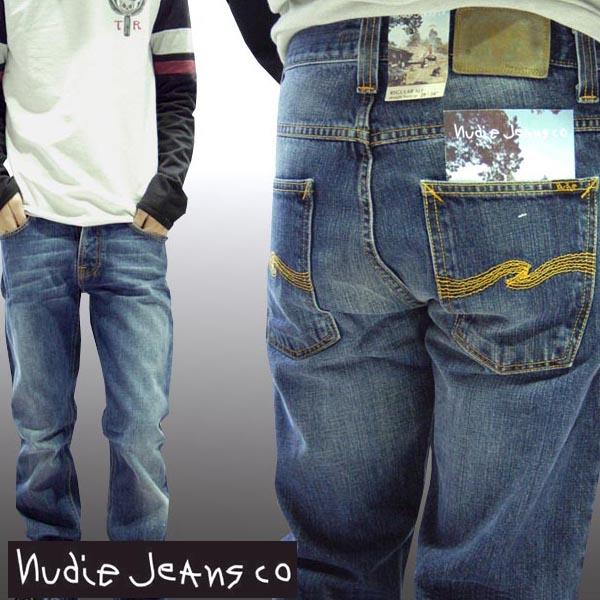ヌーディージーンズ NUDIE JEANS メンズ ストレート デニム パンツ REGULAR ALF DARK USED ジーンズ セレブ ファッション サファリ掲載 パンツ インポート ブランド アメカジ ストリート カジュアル ウェア セレカジ スタイル 正規 商品