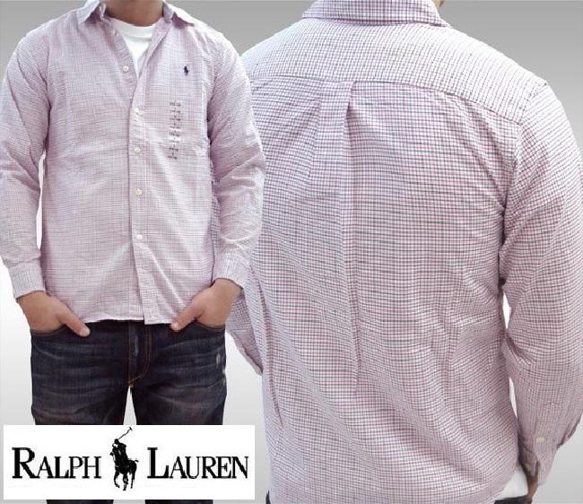 POLO RALPH LAUREN ポロ ラルフローレン BOYS ボーイズ 長袖 チェックシャツ MU RED ボタンシャツ シャツ ラルフ カジュアル アメカジ スタイル ファッション