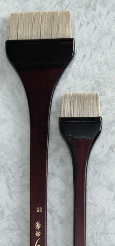 【送料無料】【お取り寄せ】ナムラ 日本画 刷毛オックス刷毛(ウルシ塗り) サイズ:50号