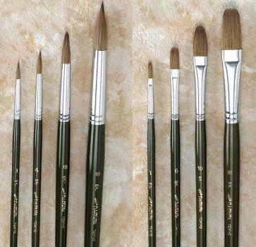 【お取り寄せ】【送料無料】ナムラ油絵・水彩画筆 SK 14号