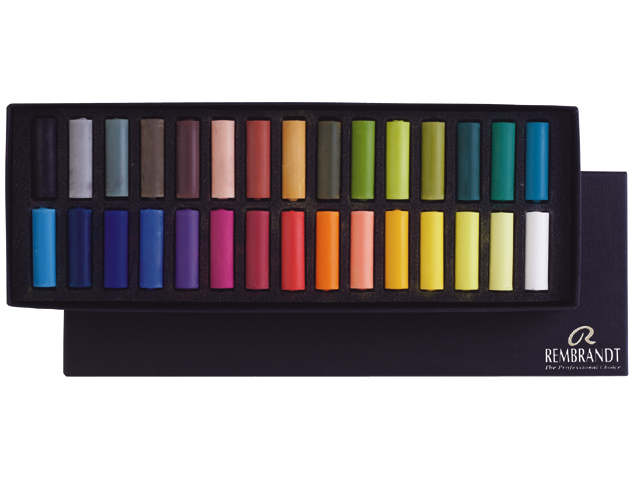 Pastel Rembrandt soft pastels are loved around the world half-30 color set