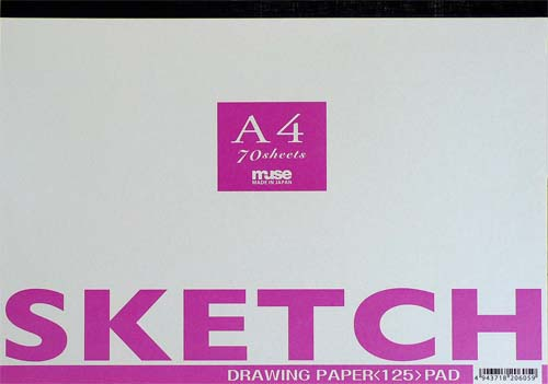 Muse Muse the sketch A4 size classic sketch pad