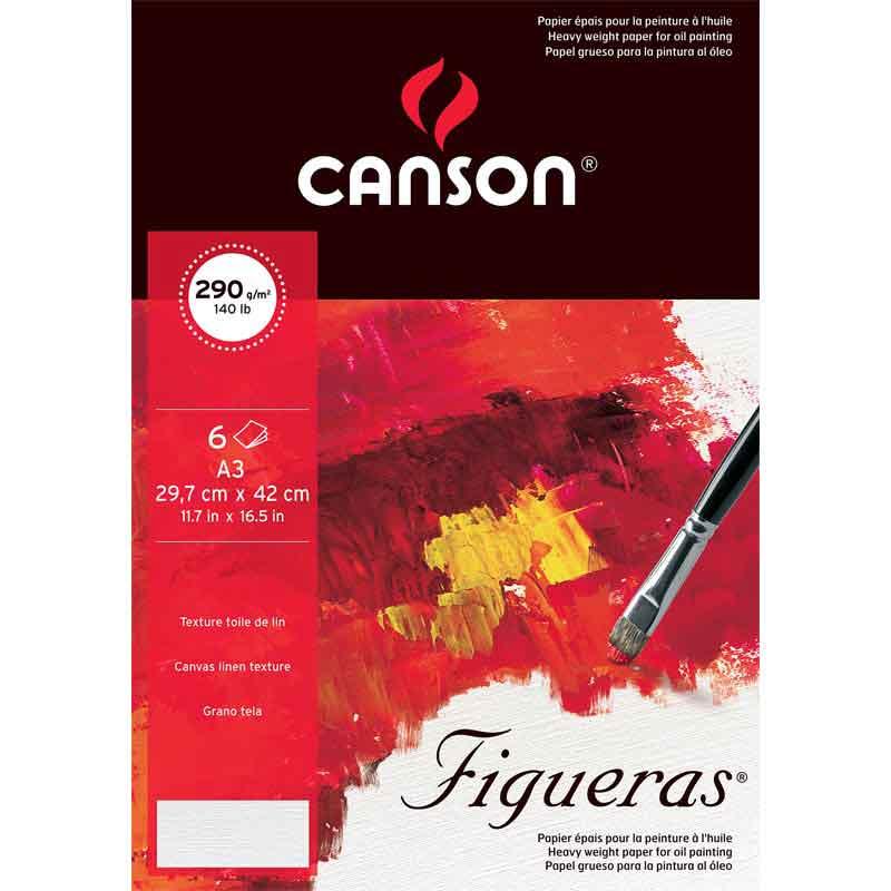 使い勝手の良い お歳暮 油彩 アクリル用シートキャンソン フィゲラスポシェット Figueras 6枚入り 420×297cm A3