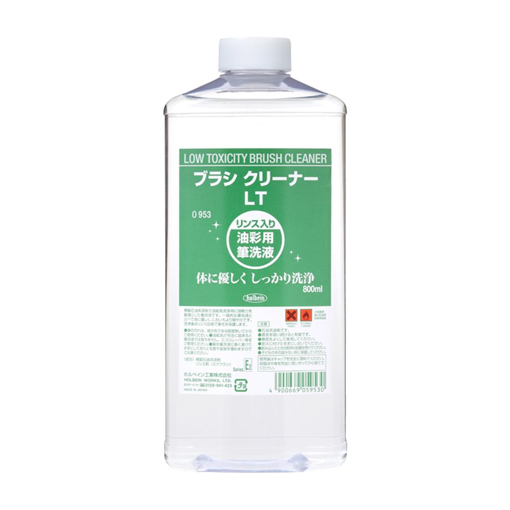 ホルベイン 予約 ブラシ クリーナーLT低毒性筆洗液 マート 800ml