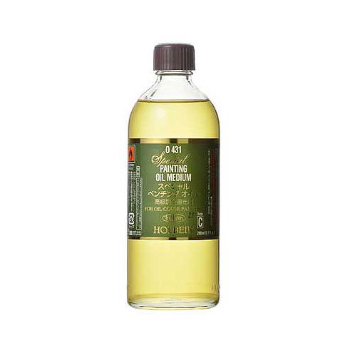 ホルベイン油彩用 市場 画用液 スペシャル ペンチングオイル 200ml画溶液 溶き油 爆買い新作 とき油