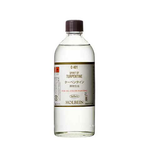 ホルベイン油彩用 お気にいる 画用液ターペンタイン テレピン 200ml O401画溶液 本日の目玉 とき油 溶き油