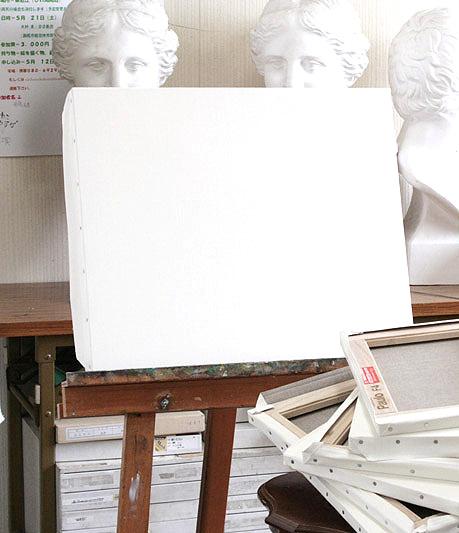 TOCLO CANVAS&Nasuno木枠張キャンバス 赤ラベル 油絵用S50号【2枚セット】(スクエア50号:1167×1167mm)【代引き不可・日時指定不可】