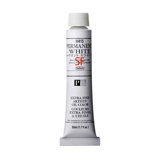 セール特別価格 ホルベイン油絵具 単色パーマネント 新作通販 ホワイト SF10号チューブ 50ml H415シリーズW