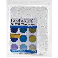従来のパステルを超える表現力 年中無休 新時代パステルパンパステル用 新着 パレットトレイ20色用
