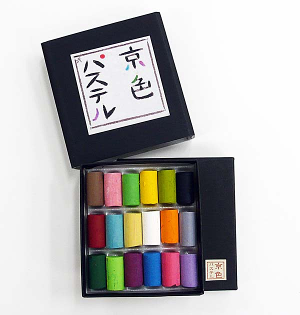 TVでも紹介された大変話題の商品です 京都の美しい色を堪能して下さい 王冠化学工業所京色パステル 18色セット 定番 格安