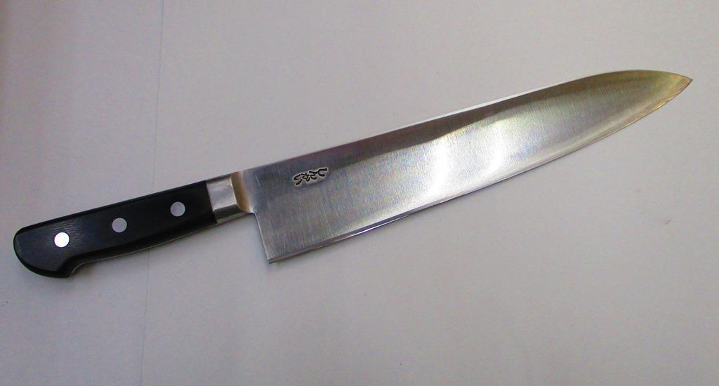 しんかい 牛刀 (洋包丁) 270mm はがね 東京打ち刃物 Shinkai Kitchen Knife