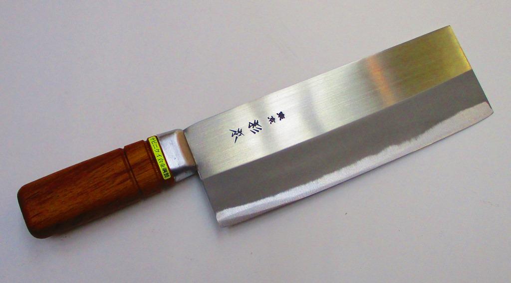 杉本 中華包丁 北京ダック包丁 (スライサー) ステンレス鋼 日本製 CM4040 Sugimoto Cutlery Chinese Cleaver Duck Slicing knife