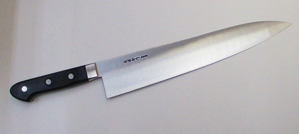 あさがや しんかい 牛刀 (洋包丁) 30センチ スウェーデン・ステンレス鋼 Asagaya Shinkai Kitchen knife