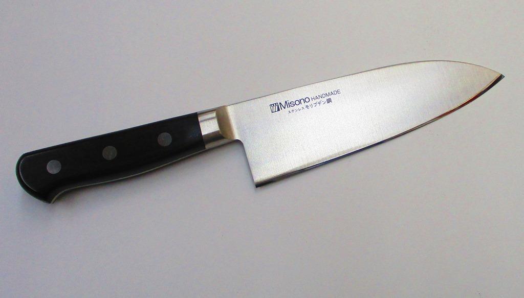 ミソノ 洋出刃 (両刃出刃) 16.5センチ ステンレス鋼 Misono Double Edge Deba knife 165mm