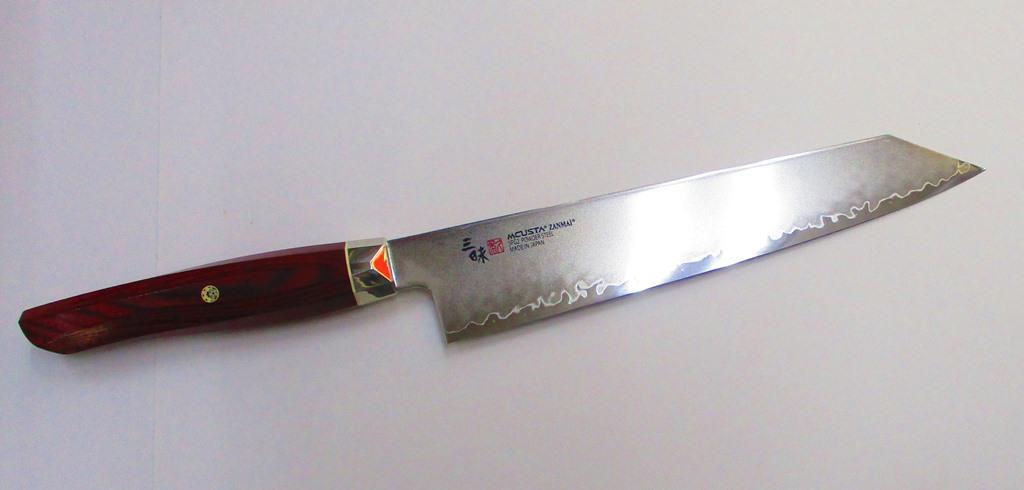 エムカスタ 三味 レボリューション 切付包丁 230mm SPG2ステンレスハイス鋼 MCUSTA ZANMAI 切り付け