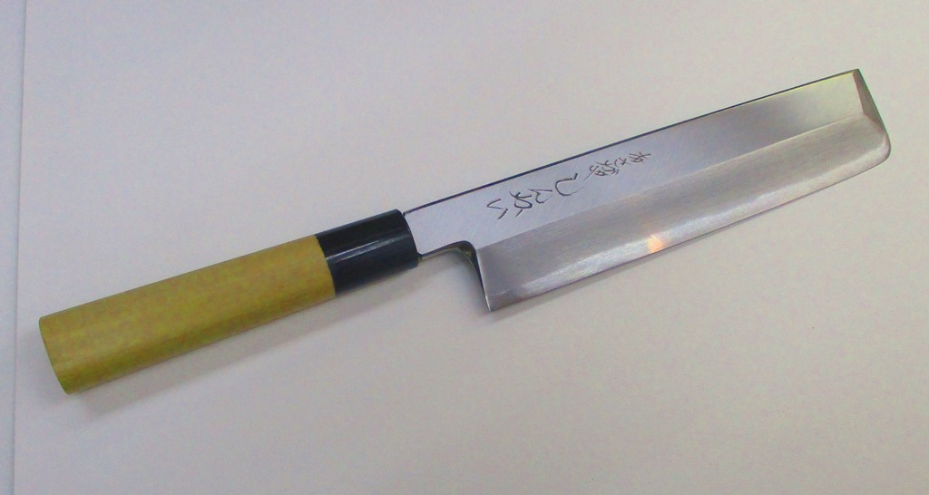 あさがや しんかい 薄刃包丁 210mm 白紙2号鋼(日立金属安来工場製)