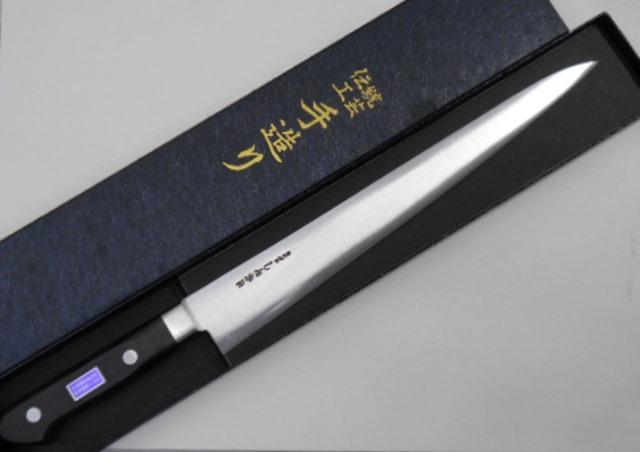 あさがや しんかい 筋引包丁 27センチ 白紙2号鋼(日立金属安来工場製) Asagaya Shinkai Kitchen knife