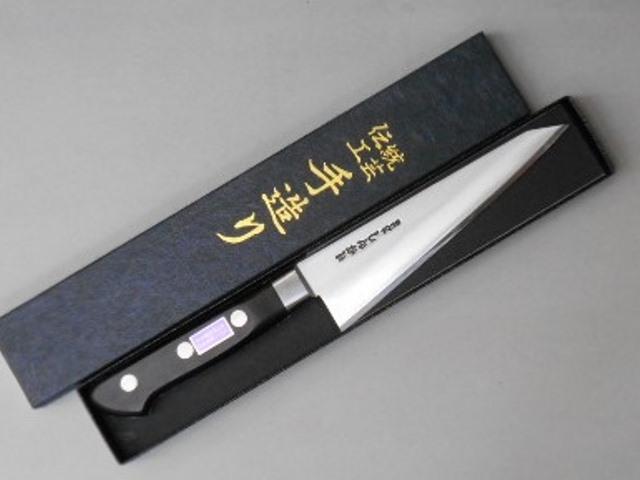 あさがや しんかい 骨透き包丁 15センチ 白紙2号鋼(日立金属安来工場製) 骨スキ ホネスキ Asagaya Shinkai chicken boning knife 15cm