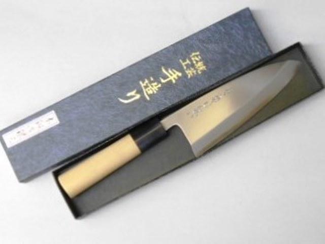 あさがや しんかい 出刃包丁 15センチ 銀紙3号ステンレス鋼 Asagaya Shinkai Deba knife 15cm Stainless Steel