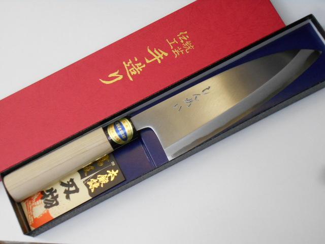 しんかい 出刃包丁 18センチ はがね Shinkai Deba knife 高級品 Carbon 18cm High 人気 Steel