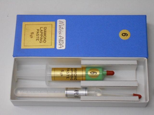 マトリックスアイダ ダイヤモンドペースト 6番(#2500~3000)5グラム 希釈液付 Matrix AIDA 研磨剤
