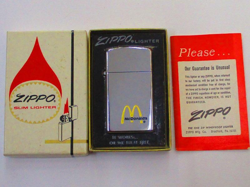 新版 ビンテージZippo マクドナルド McDonald's スリム McDonald's ポリッシュ仕上げ 1977年製 未使用箱付き 未使用箱付き スリム (M-774), シマシ:122ed7c2 --- konecti.dominiotemporario.com