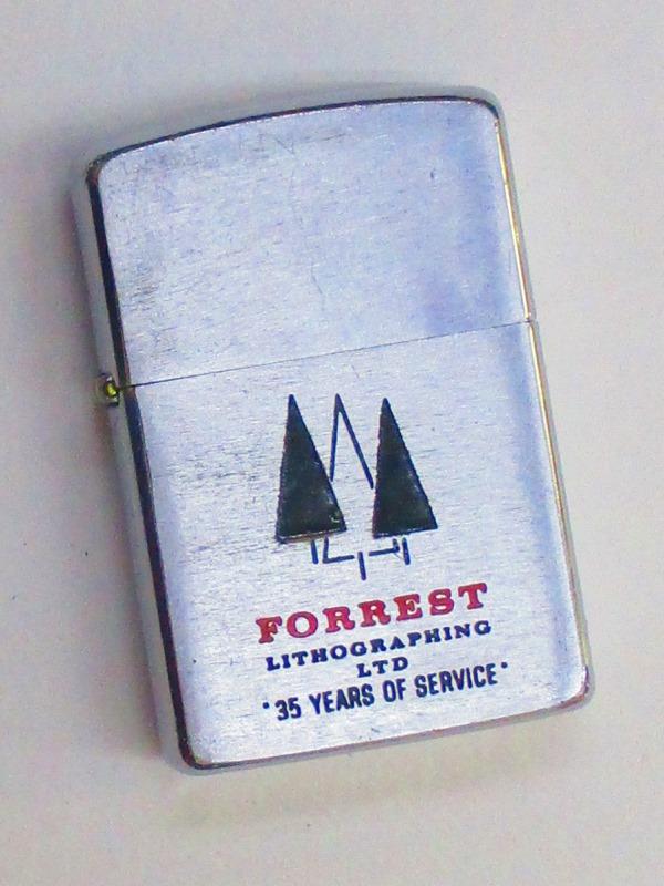 【一部予約!】 ビンテージZippo フォレスト印刷社 1950刻印 カナダ製 1950刻印 ビンテージZippo 1958-1959年製 ユーズド【中古】 (U-305) (U-305), T-ALPHA:a7b66cd8 --- holger-marschall.info