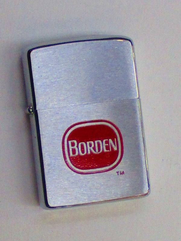 ビンテージZippo ボーデン社 (大手乳製品メーカー) 1976年製 未使用 (M0232)