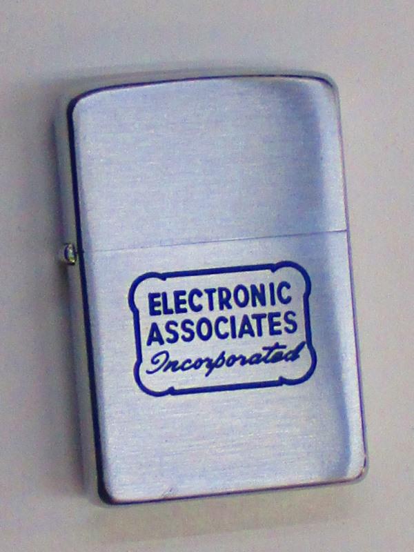 ビンテージZippo エレクトリックアソシエイツ社 ペイス (アナログコンピューター) 難あり 1956年製 未使用 (M0243)