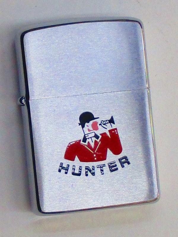 ビンテージZippo ハンター社 (狩猟リーダーのカートゥーン) 1963年製 未使用 (M0235)