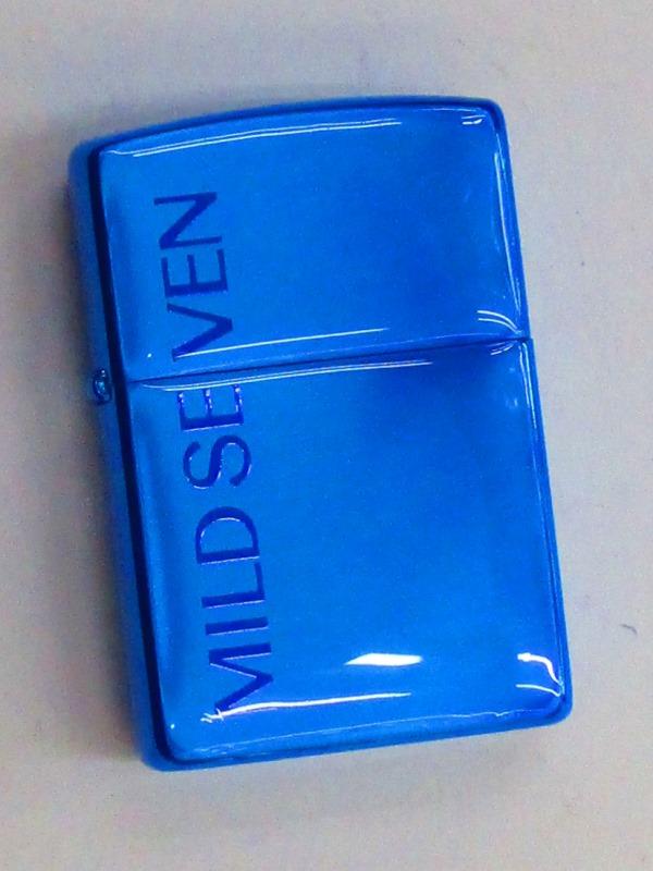 マイルドセブン JT ブルーロゴマーク アクリルペイント 樹脂加工Zippo 2000年製 未使用 (TB-30) 2000年製 JT (TB-30) 日本たばこ MILD SEVEN, ノツマチ:6505daf7 --- sunward.msk.ru