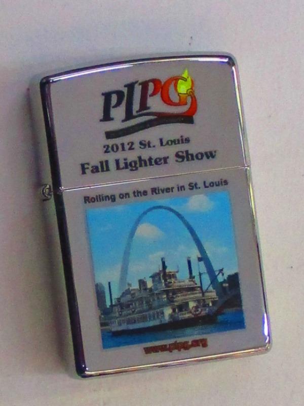 PLPG 2012年コンベンション記念 セントルイス 外輪船 ポリッシュZippo 2012年製 未使用 (PLPG2012)