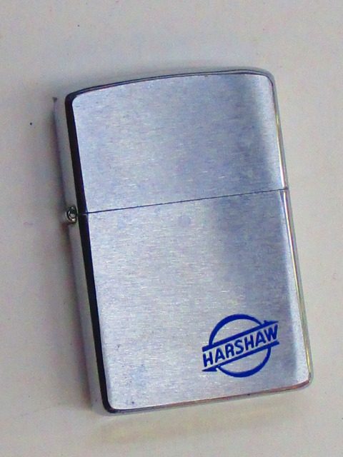 ビンテージZippo ハーショウ社 (化学工業メーカー) 1981年製 未使用 (M0254)