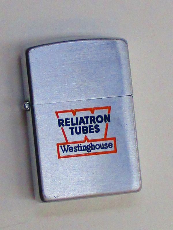 ビンテージZippo レリートロン社 (ウェスティングハウス系列鋼管メーカー) 難あり スチール製 1952-53年製 未使用 (Z3-161)