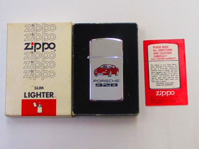 ビンテージZippo PORSHE ポルシェ 928 PORSHE ポルシェ ポリッシュ仕上げ スリム 1984年製 未使用箱付き 928 (M-843), けあ太朗:acbc20ae --- officewill.xsrv.jp