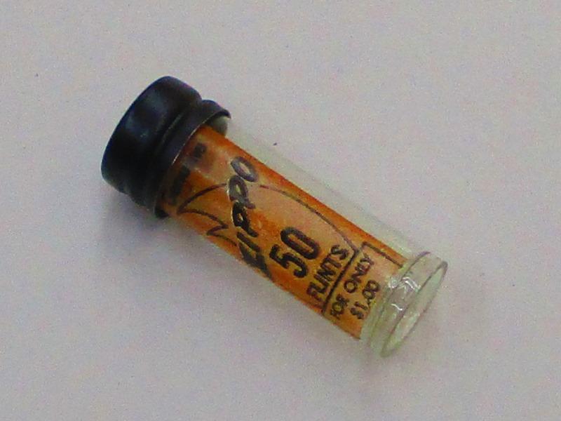 激安通販の ビンテージZippo 昔のフリントケース 小売り用火打石ケース ビンテージZippo (フリントは付きません), カワチグン:f5660262 --- canoncity.azurewebsites.net