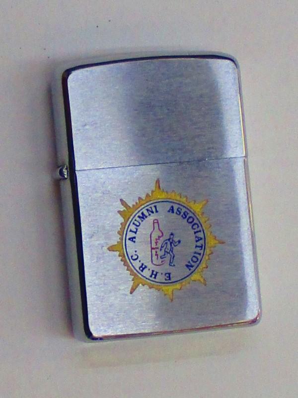 ビンテージZippo EHRC協会 (アルミニウム工業) 1969年製 未使用 (M0217)