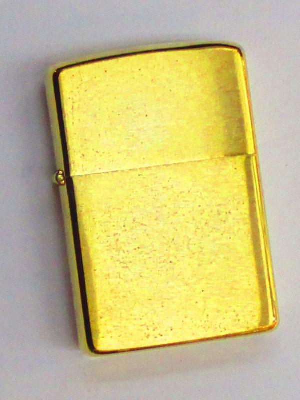ビンテージZippo ブラッシュ仕上げ 無地 1979年製 未使用 (MJ-794)