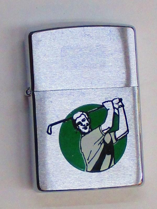 ゴルファー ゴルフ ブラッシュZippo 1992年1月製未使用 (Z-269)