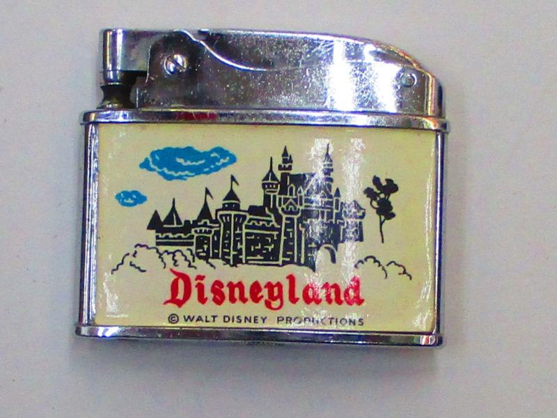フラットアドバタイザー 日本製広告物オイルライター ディズニーランド エクセレント【中古】 Disneyland