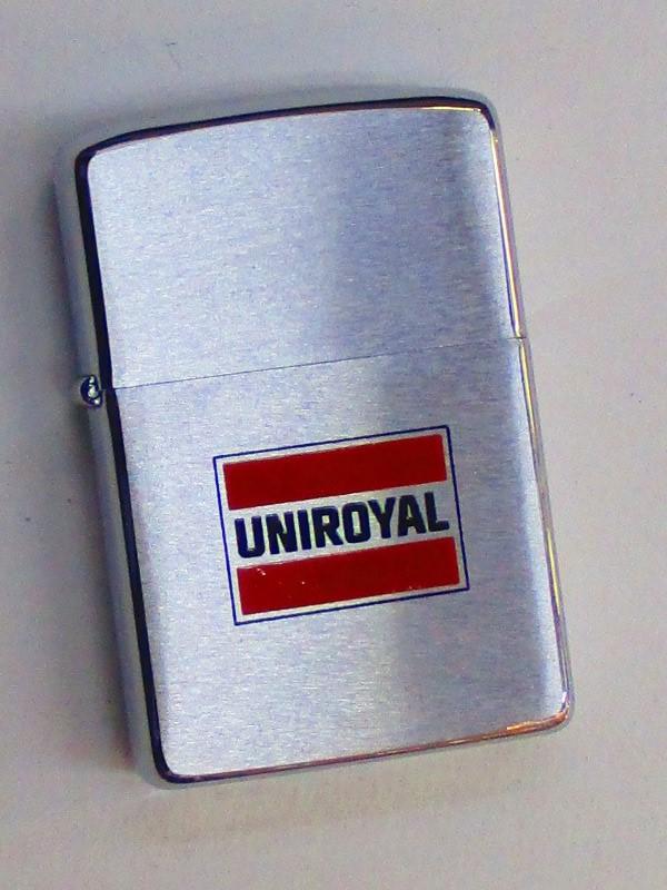 ビンテージZippo ユニロイヤル (タイヤメーカー) 1978年製未使用 (M0292)
