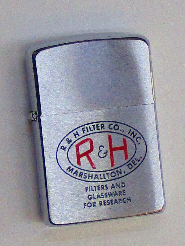 ビンテージZippo R&Hフィルター社 1960年製 未使用 (M0270)