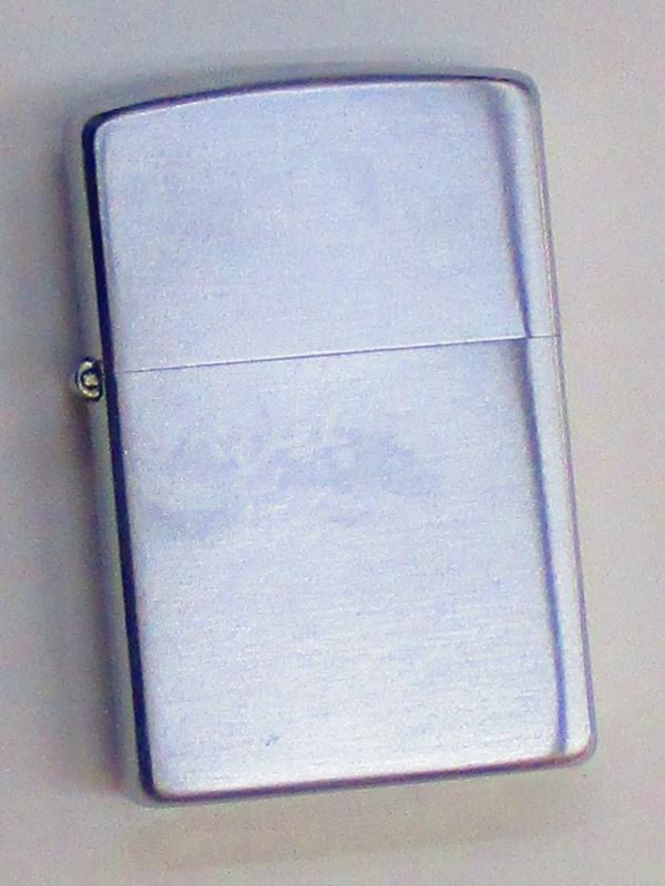 ビンテージZippo 無地 ブラッシュ仕上げ 1953-54年製 未使用 (MJ-531)