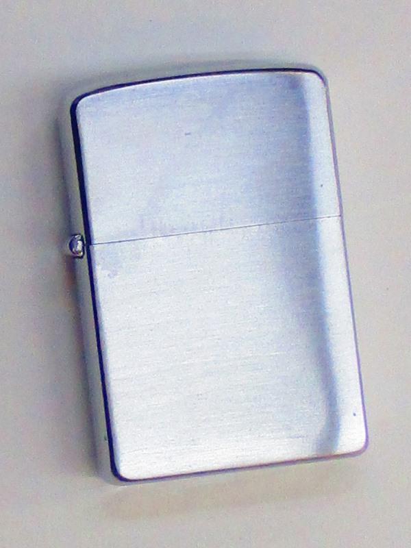ビンテージZippo 無地 ブラッシュ仕上げ 1961年製 未使用 (MJ-612)