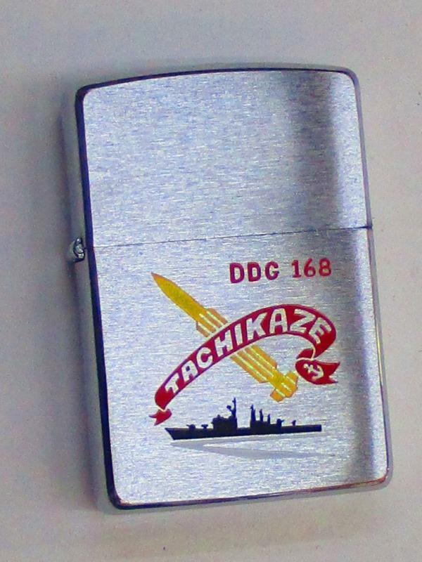 ミサイル護衛艦 たちかぜ DDG-168 ブラッシュZippo 1994年3月製未使用 (G-146)
