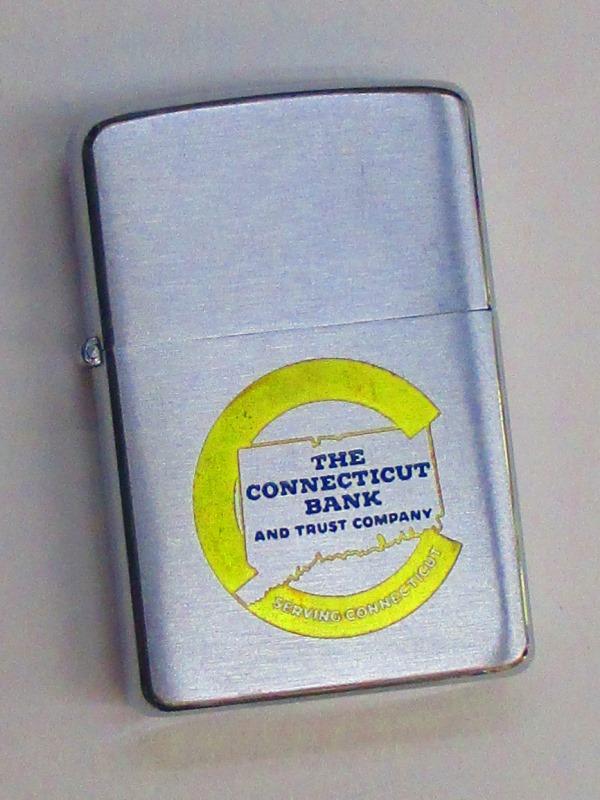 ビンテージZippo コネチカット銀行 1957年製 未使用 (M0285)