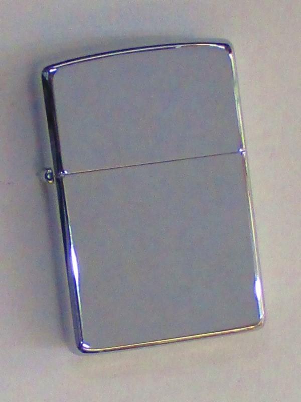 無地 ポリッシュ仕上げ 銀メッキZippo 1992年4月製 未使用 (MJ-925)