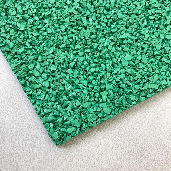 ゴムマット2グリーン1m x 5m x 5mm厚 【北海道、沖縄、離島は配送不可】